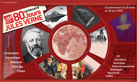8 février 1828 Jules Verne : 57 volumes des Voyages extraordinaires en ligne | Remue-méninges FLE | Scoop.it