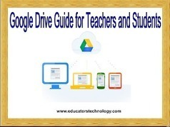 Educational Technology and Mobile Learning: The Comprehensive Google Drive Guide for Teachers and Students | Mobile and Blended Learning | Scoop.it