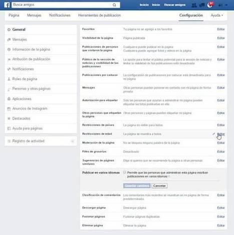 Cómo publicar en varios idiomas en Facebook   IDIOMAS unileon   Scoop.it