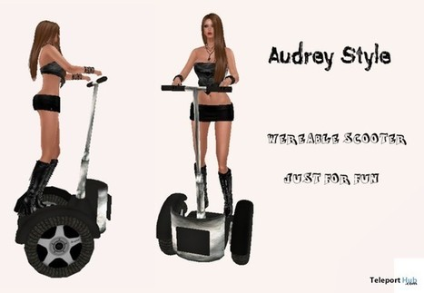 Wearable Scooter by Audrey Style | Teleport Hub - Second Life Freebies | Second Life Freebies | Scoop.it