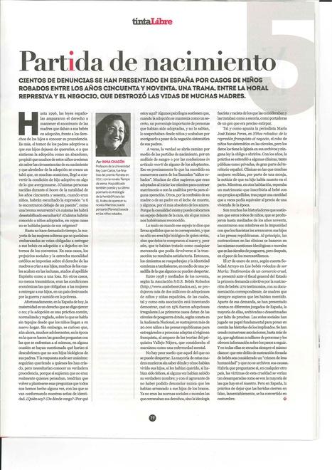 Tinta Libre | Inma Chacón | Scoop.it