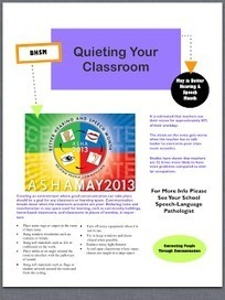 Let's Talk Speech and Language: Better Hearing and Speech Month Flyer | Room Acoustics, Speech Intelligibility and Sound Reproduction | Scoop.it