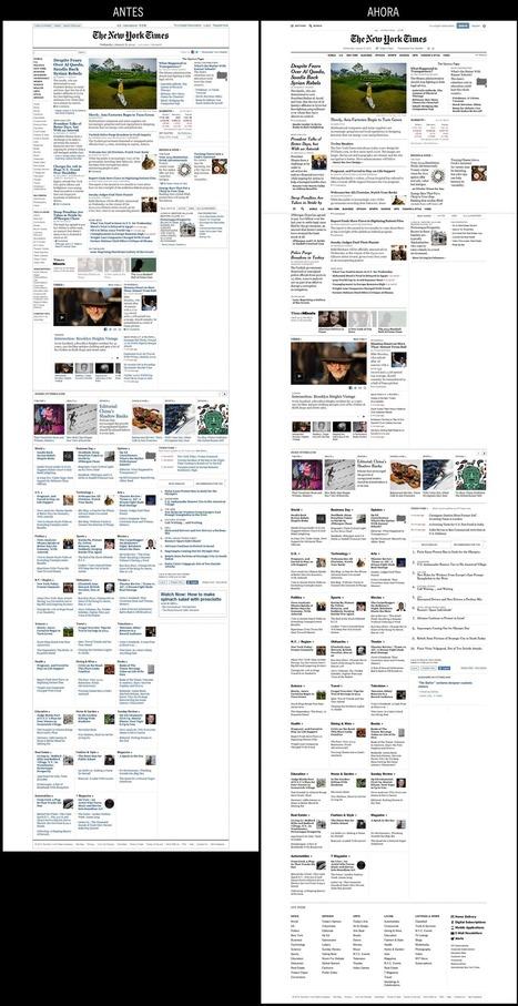 Rediseño de NYTimes.com: menos es más   Periodismo 3.0   Scoop.it