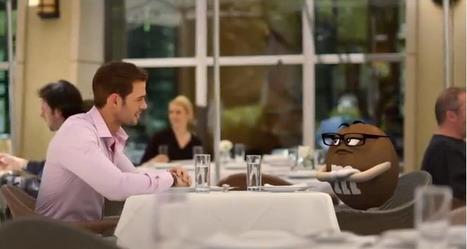 Le rendez-vous galant entre un mannequin et un M&M's | Tendances publicitaires et marketing | Scoop.it