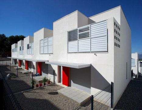 [Tarragona, Catalonia, Spain] Aguilera Guerrero arquitectos' social housing, catalonia - designboom | The Architecture of the City | Scoop.it