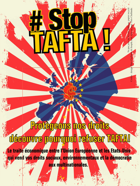 STOP TAFTA : manifestation et tract anti-Tafta distribué le 5 avril à Marseille PAGE 1 | Nice Écologie | Stopper TAFTA | Scoop.it