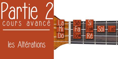 Les altérations partie 2 au ukulélé | Cours avancé de ukulélé | tablature et partition ukulele | Scoop.it
