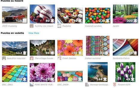 Jigsaw Planet. Créer des puzzles en ligne personnalisés | Les outils du Web 2.0 | Scoop.it
