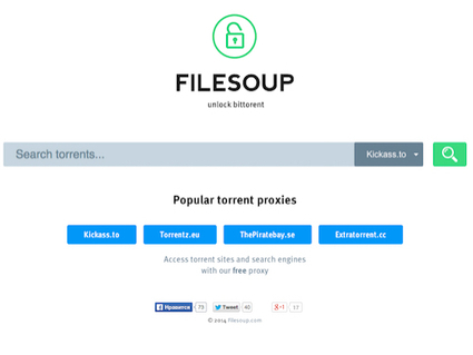 FileSoup, un moteur de recherche de torrent qui n'aime pas Google ! | Geeks | Scoop.it
