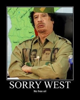 #Gaddafi | The greatest weapon is not a gun. Nor it is nuclear. It is information control | Scoop.it