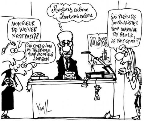 Pierre Kroll - Dessin du jour - Mardi 14 Octobre 2014 | CHRONYX 4 CHANGE : un autre monde est possible ! | Scoop.it