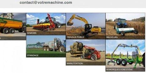 Quand les agriculteurs aquitains partagent leurs tracteurs sur Internet - SudOuest.fr | Agriculture, horticulture, pêche, sylviculture, viticulture, travailler avec les animaux | Scoop.it