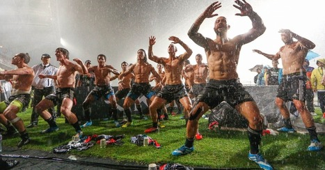 New Zealand Rugby Team Dances Shirtless in the Rain, and It's Glorious | The All Blacks | Scoop.it
