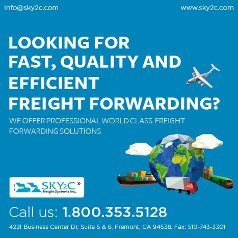 Freight Forwarding Companies   Commercial Cargo Services Fremont   Scoop.it