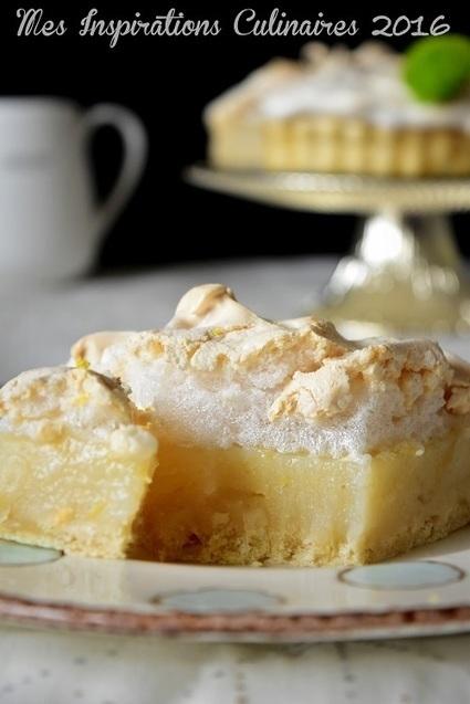 Tarte au citron meringuée Végan | Desserts - Mousses - PannaCotta - glaces | Scoop.it