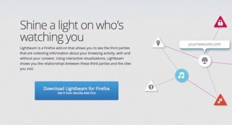Lightbeam for Firefox Shows which Companies Track You Online | Educational Technology - Yeshiva Edition | Scoop.it