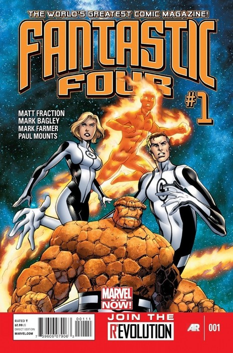 Fraction Forms 'FF' And 'Fantastic Four' Futures With Allred and Bagley | Comic Books | Scoop.it