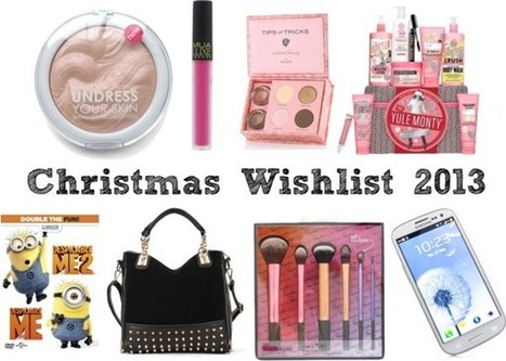 Raspberrykiss | UK Beauty Blog: Christmas Wishlist 2013 | Beauty | Scoop.it