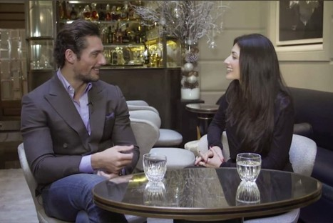 Quando l'amicizia fa tendenza: David Gandy e Natalia Barbieri | MIME | theheartbeforeall Magazine | Scoop.it