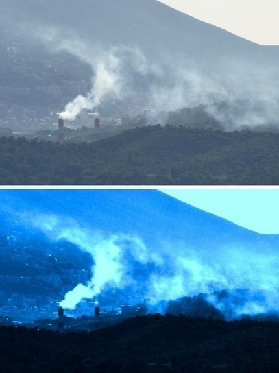 Pic de pollution sur la Corse du Sud, les poussières viennent du Saraha | Ambiante | Scoop.it