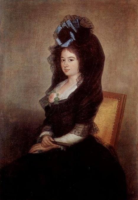 Arte XIX: Retrato de Narcisa Baranana de Goicoechea   El Arte del siglo XIX   Scoop.it