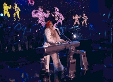 Le piano de Lady Gaga robotisé | Des robots et des drones | Scoop.it