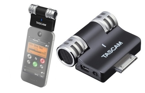 Tascam iM2: Hi-Fi Stereo Mic for iPhone, iPad | mlearn | Scoop.it