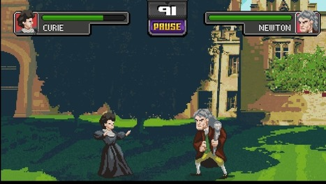 Historical Science Celebs Battle It Out In Science Kombat Game | Math, technology and learning | Scoop.it