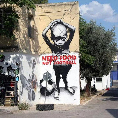 STREET ART : Anti-FIFA graffiti across Brazil, ahead of the World Cup | Imgur | Looks -Pictures, Images, Visual Languages | Scoop.it