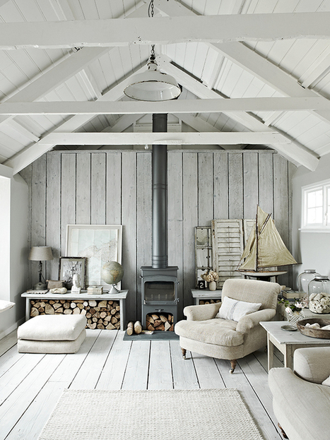 white-coastal-style-living-room-from-dream-rooms-magazine-The-Relaxed-Home.jpg (650×867) | House Design | Scoop.it