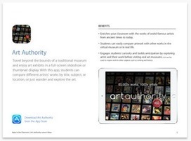 Some Very Good Resources To Integrate iPad in Art Classrooms   ARTE, ARTISTAS E INNOVACIÓN TECNOLÓGICA   Scoop.it