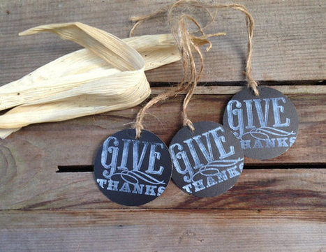 Thanksgiving Chalkboard tags favors gifts par ilPiccoloGiardino | Candy Buffet Weddings, Events, Food Station Buffets and Tea Parties | Scoop.it