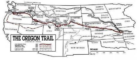 History: Oregon Trail for Kids | Westward Expansion | Scoop.it