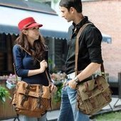 classic leather buckle messenger bags unisex | personalized canvas messenger bags and backpack | Scoop.it