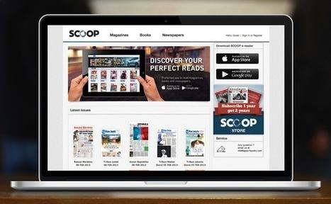 L'application de kiosque numérique Scoop lève 2,4 millions de dollars | Internet pour s'informer autrement ? | Scoop.it