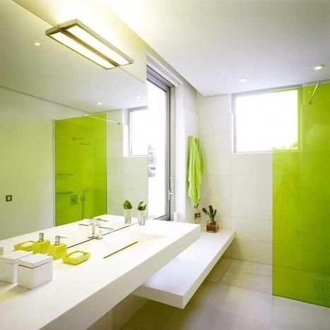 Green Bathroom Theme | Home Design | Scoop.it