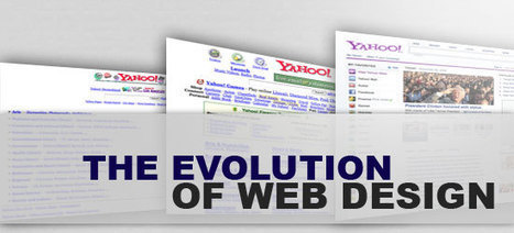 The Evolution of Web Design - Six Revisions | How to make your new web design | Scoop.it