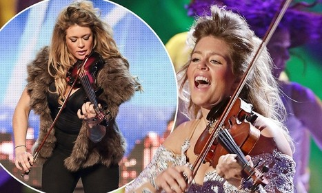 Diary of BGT's ditziest finalist: Lettice Rowbotham on auditioning hungover, her outrageous stage costumes and being loaned a £1.5million violin for her last performance | Life-Style | Scoop.it