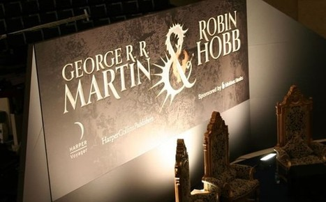 When two worlds collide - George RR Martin and Robin Hobb Enthral Fans | Robin Hobb | Scoop.it