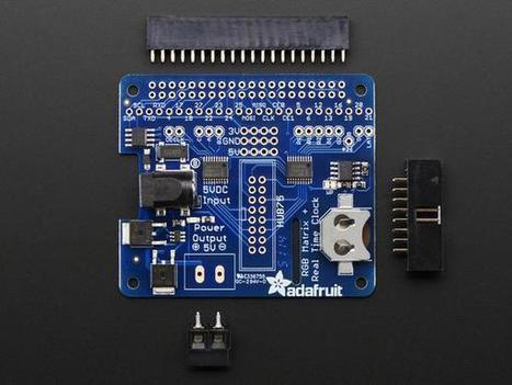 Adafruit RGB Matrix HAT + RTC for Raspberry Pi | Raspberry Pi | Scoop.it
