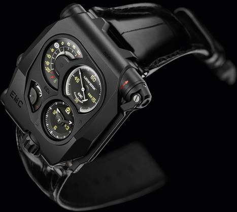 Urwerk EMC Black | Montre, Horlogerie,Chronos | Scoop.it
