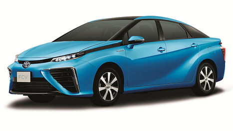 Toyota's hydrogen powered car is here | hybrid technology | Scoop.it