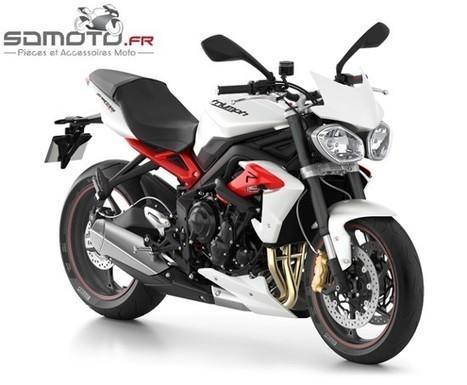 Le tuning d' une Triumph Street Triple avec Sdmoto.fr ! | accessoires motos | Scoop.it