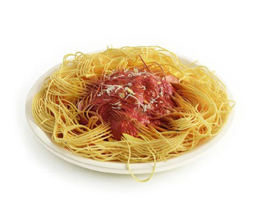 Assiette spaghetti 3D | 3D Library | Scoop.it