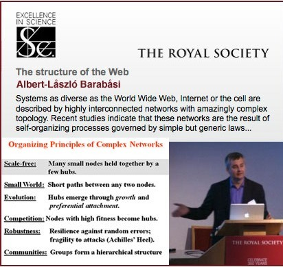 Networks explained by Barabåsi ~ Stephen's Web | La brecha de la complejidad | Scoop.it