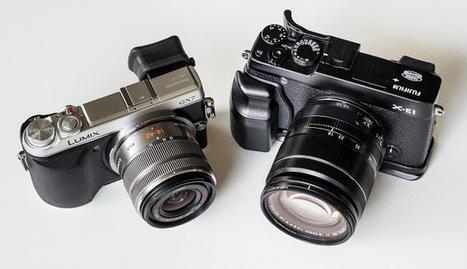 Fuji X-E1 vs Panasonic GX7 MILC comparison Part 2 | Sony A7R | Scoop.it