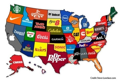 The Most Famous Brand From Every State | AP HUMAN GEOGRAPHY DIGITAL  STUDY: MIKE BUSARELLO | Scoop.it