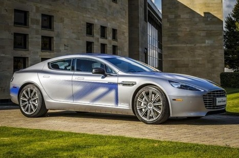 James Bond n'est pas encore Green : Aston Martin présente son premier prototype 100% électrique | digital mentalist  and cool innovations | Scoop.it