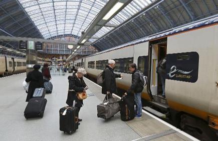 Eurostar : 10 millions de passagers en un an, une première   C News of France   Scoop.it
