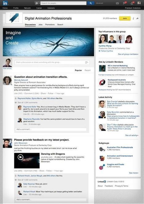 Increase Engagement With LinkedIn's Redesigned Group Pages | LINKEDIN TIPS & TRICKS | Scoop.it